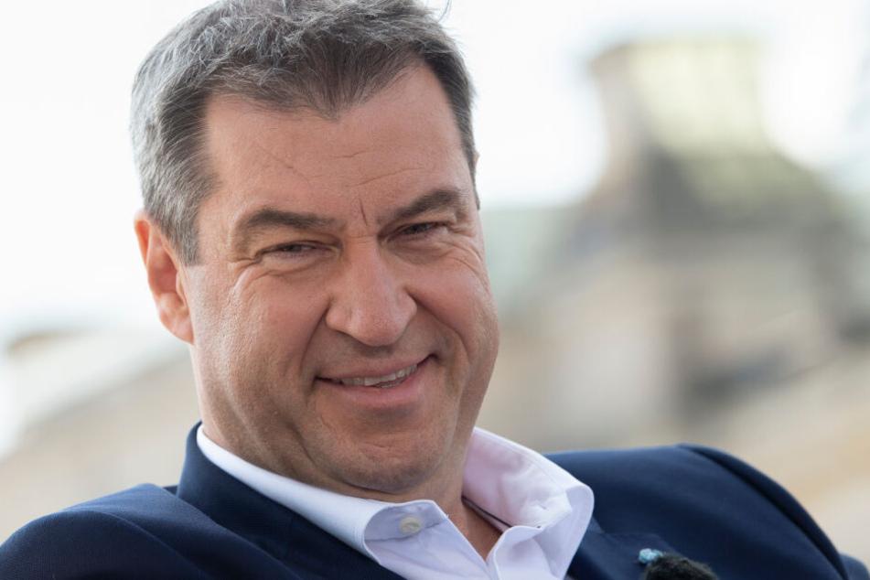 Ministerpräsident Markus Söder will viel Geld in die Zukunft investieren.