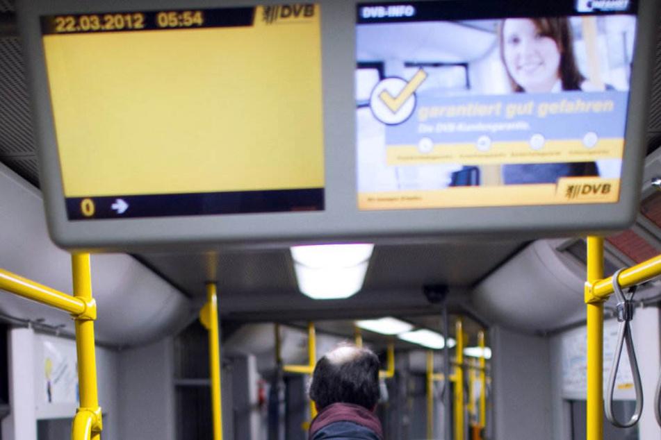 Ähnlich wie in Dresden könnte es bald einen zweiten Monitor mit regionalen Nachrichten geben.