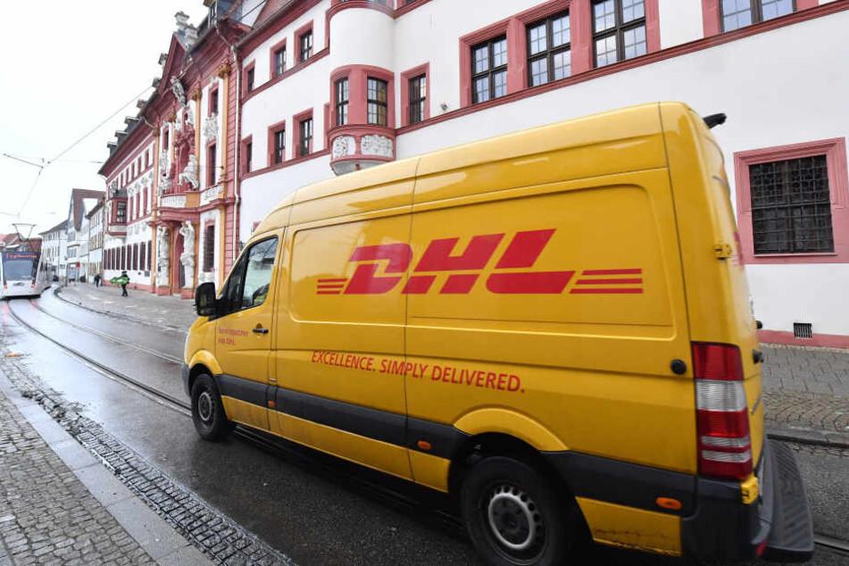 Thüringer Staatskanzlei erhält DHL-Paket mit Wurfgranate