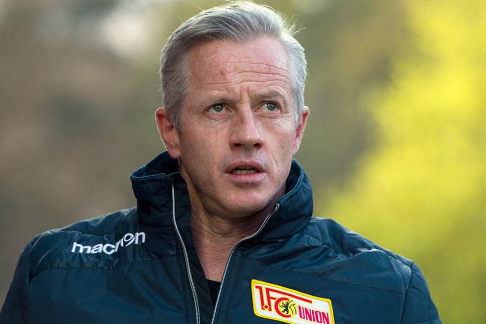 Hat noch viel vor mit Union: Trainer Jens Keller.