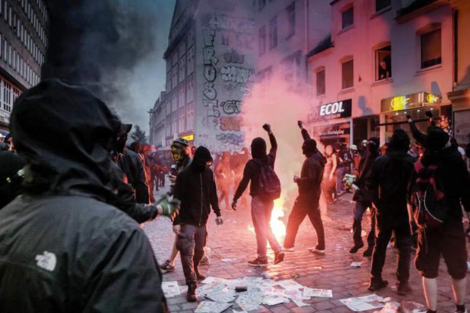 Polizei sucht weiter nach Krawallmachern vom G20-Gipfel