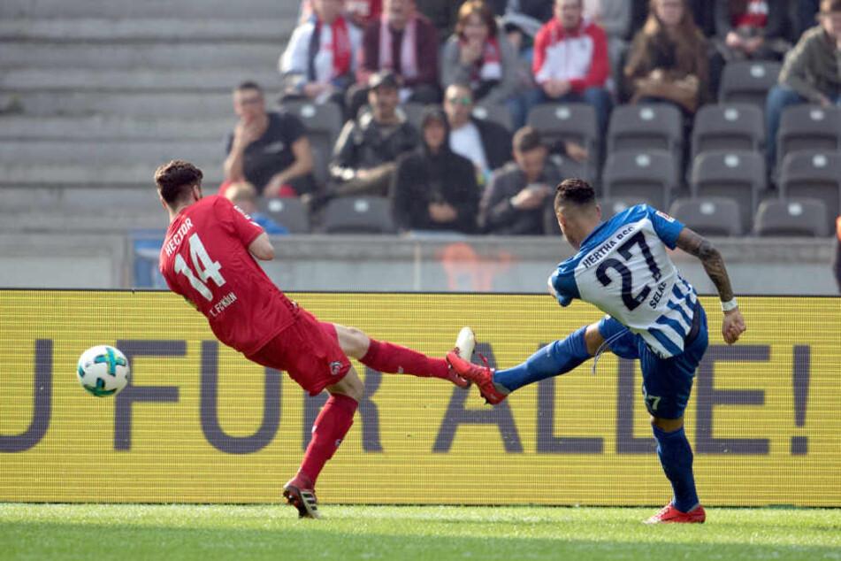 Der Berliner Selke traf kurz nach der Pause zweimal und drehte das Spiel.