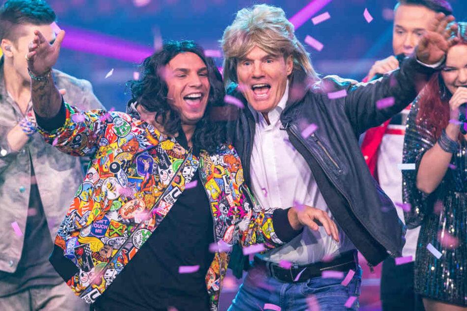 DSDS: Was machen Pietro und Dieter Bohlen hier auf der Bühne?