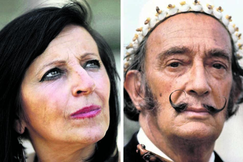 Dass Pilar Abel Martínez (61) Dalís Exhumierung durchgesetzt hatte, empörte  viele Spanier. Salvador Dalí (1904-1989) behauptete zeitlebens, impotent zu sein.