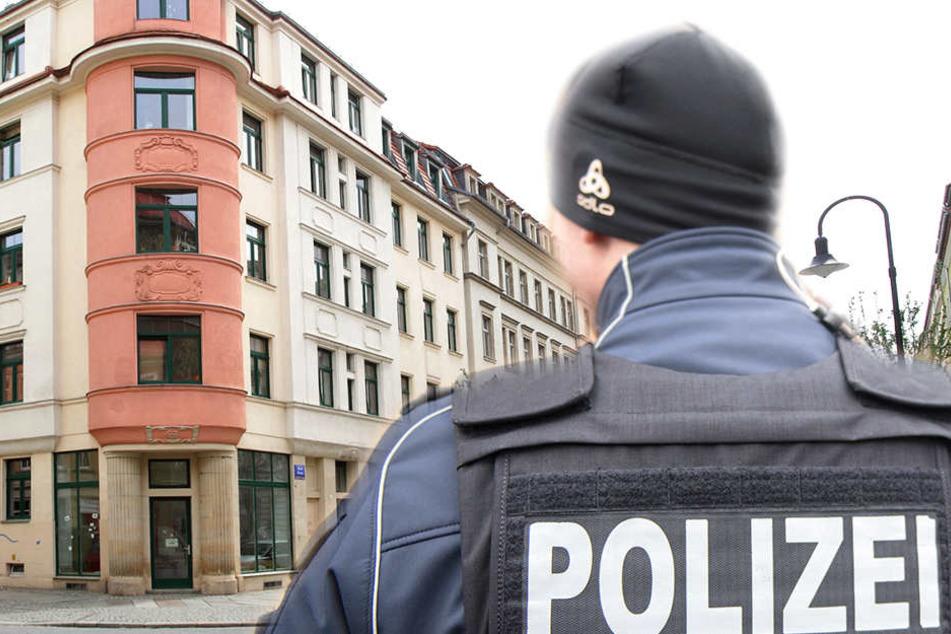 In der Fichtenstraße in Dresden wurde eine Frau sexuell belästigt.