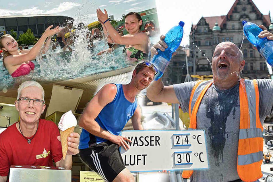 Heute kommt die Hitze-Keule! Bis zu 33 Grad in Dresden