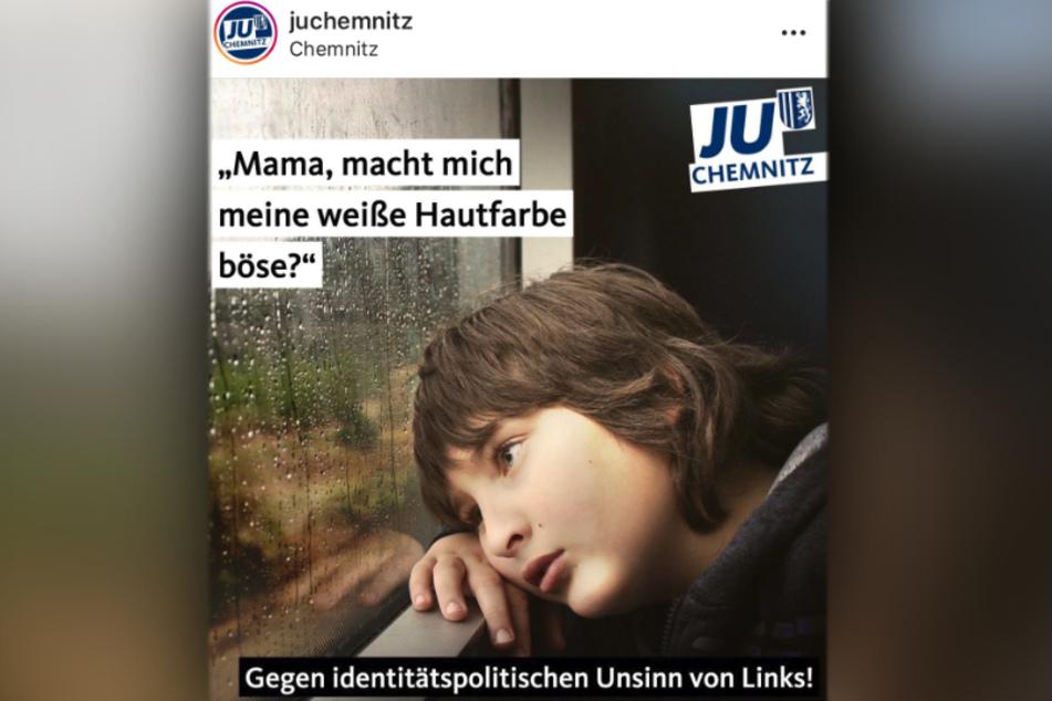 Die Junge Union Chemnitz bekam für diesen Post jede Menge Kritik - auch aus der CDU!