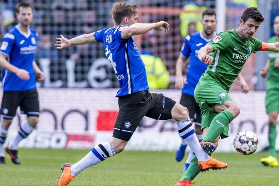 Für den DSC stand Edmundsson zuletzt gegen Bochum auf dem Platz.