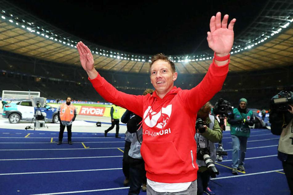 Julian Nagelsmann feierte beim 4:2 bei Hertha BSC den vierten Pflichtspielsieg in Folge mit 20:3 Toren.