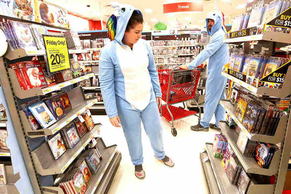 Was man bei Target doch alles so shoppen und beim Einkauf tragen kann.