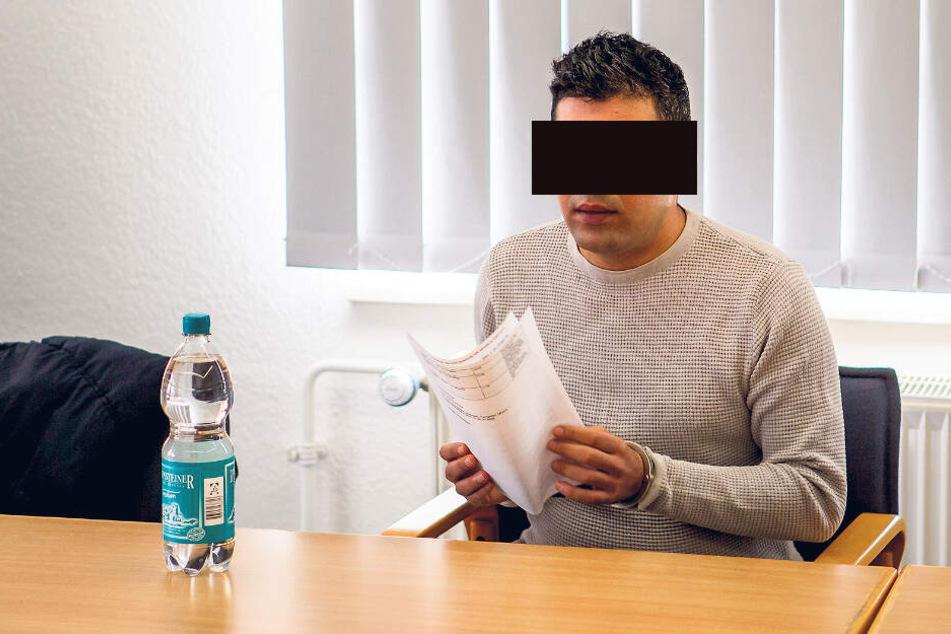"""Ist seit Mittwoch ein freier Mann: der selbsternannte """"Frauenrichter"""" Maher A. (31)."""