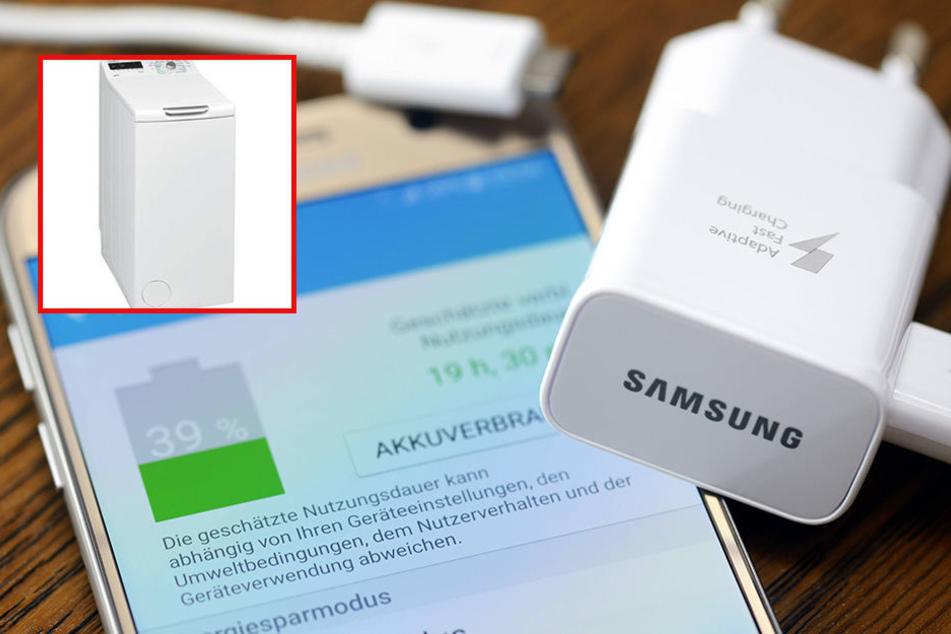 Nach den Problemen mit den Akkus des Galaxy Note 7 hat Samsung nun Zoff mit seinen Waschmaschine.