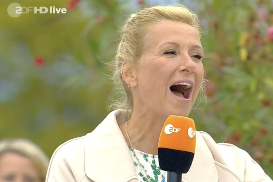 Lachen verboten im ZDF-Fernsehgarten? Kiwi blafft Mitarbeiter an!