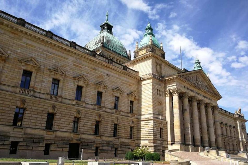Im Bundesverwaltungsgericht Leipzig wird ab Mittwoch eine NS-Wanderausstellung gezeigt.