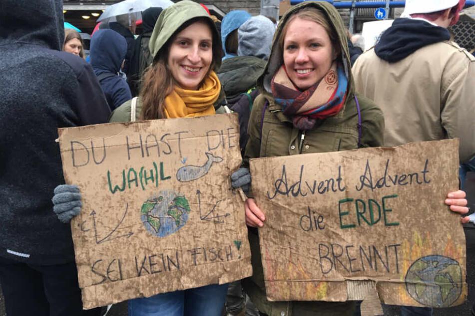 Fridays for Future in Stuttgart: Tausende trotzen dem Regen