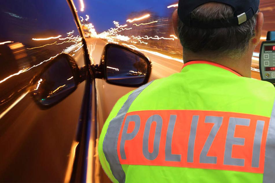 Ein Polizist wurde von dem VW Golf aus Essen fast überfahren (Symbolbild).