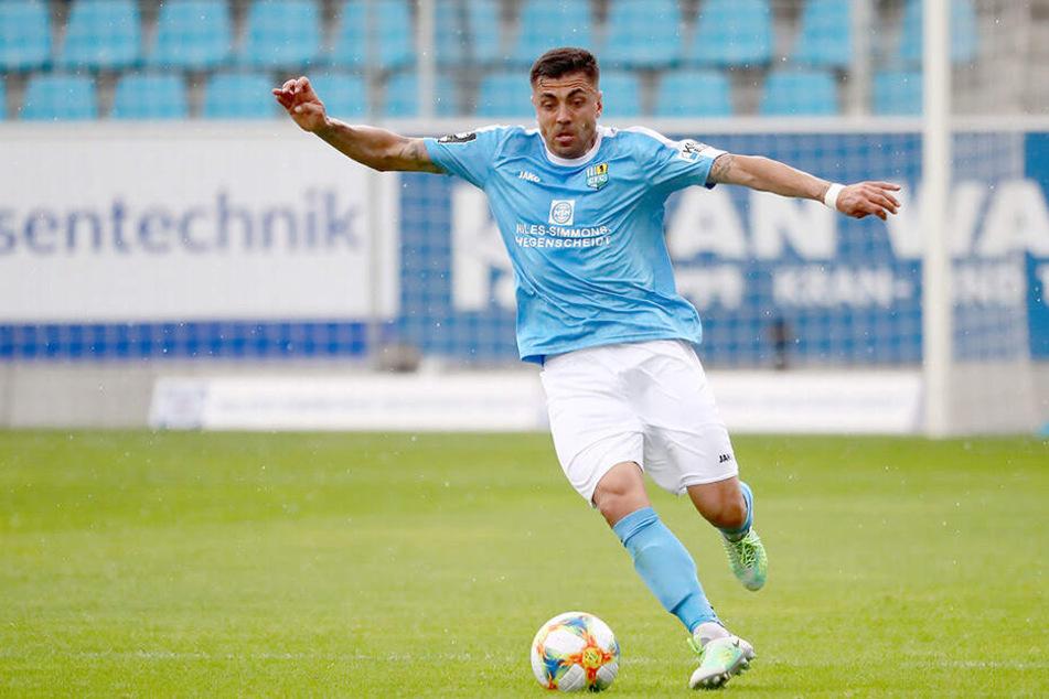 Georgi Sarmov war Dreh- und Angelpunkt des Chemnitzer Spiels.