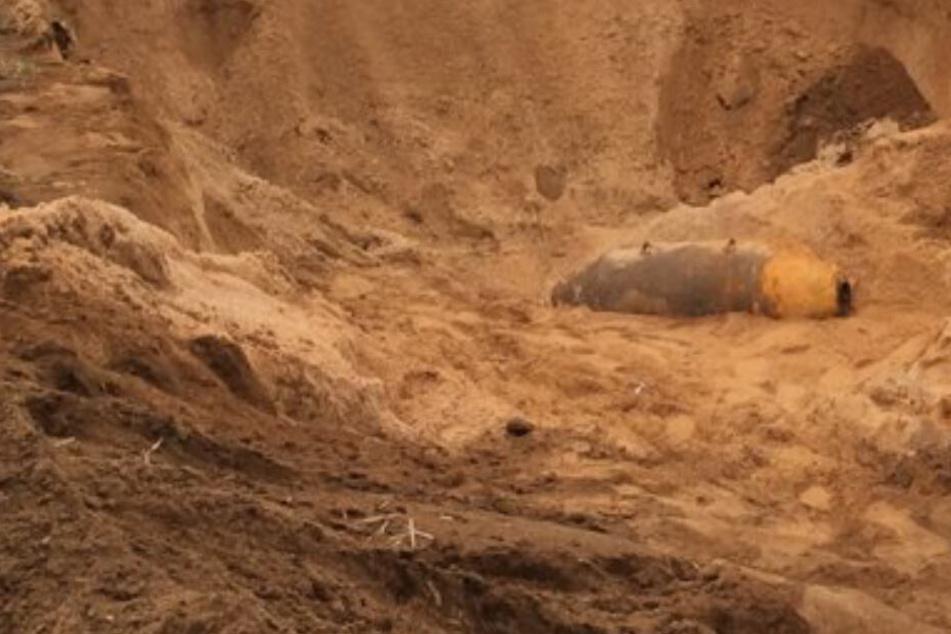 Schnelle Nummer: Fliegerbombe nach Fund bei Babenhausen nach 50 Minuten entschärft