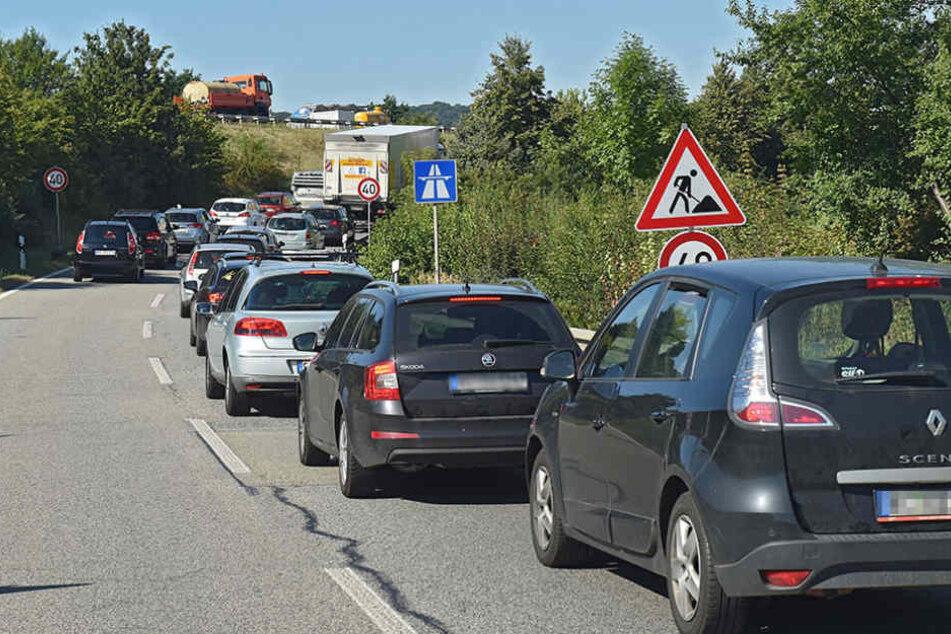Die Auffahrt zur A4 in Richtung Berlin ist ab Freitag komplett dicht.