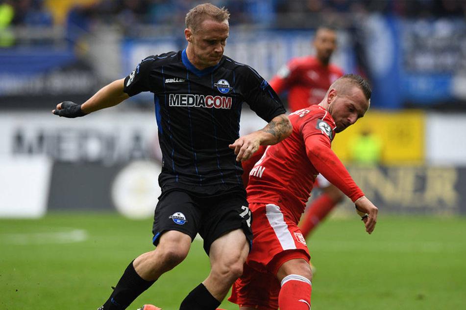 Der SC Paderborn steht aktuell auf dem 14. Tabellenplatz.