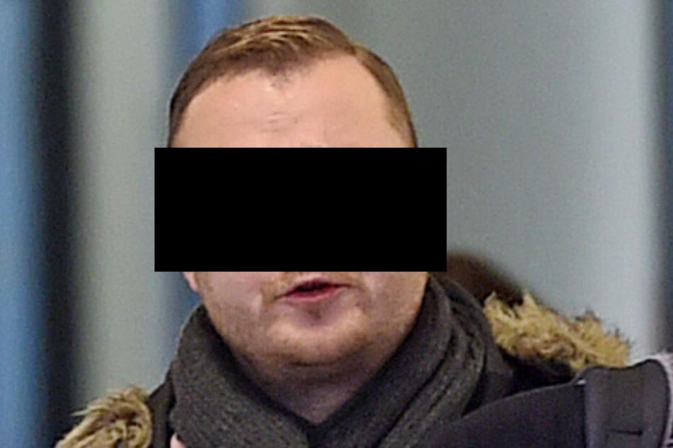 Akzeptierte letztlich die Strafe für seine Trunkenheitsfahrt mit dem E-Scooter: Informatiker Denny M. (29) am Amtsgericht.
