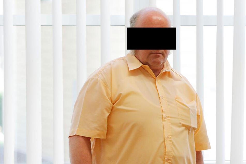 Wird unter Alkohol-Einfluss unberechenbar: Gert Klaus Z. (49) aus Lauter-Bernsbach.