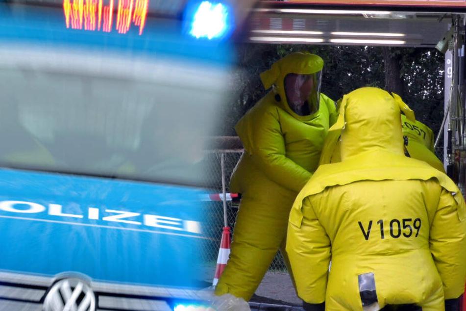 Chemie-Alarm! Laster verliert auf drei Autobahnen 100 Liter ätzende Flüssigkeit