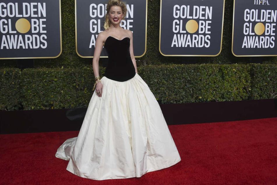 Amber Heard bei der 76. Verleihung des Golden Globes.