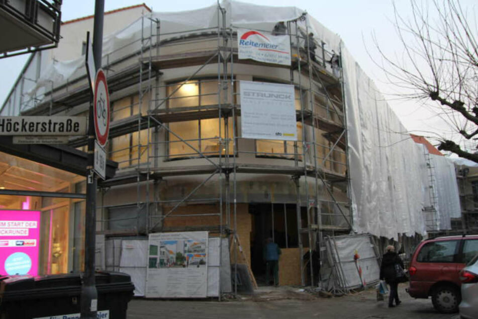 Auf dem ehemaligen Kaufhof-Gelände entsteht das neue Altstadt-Center.