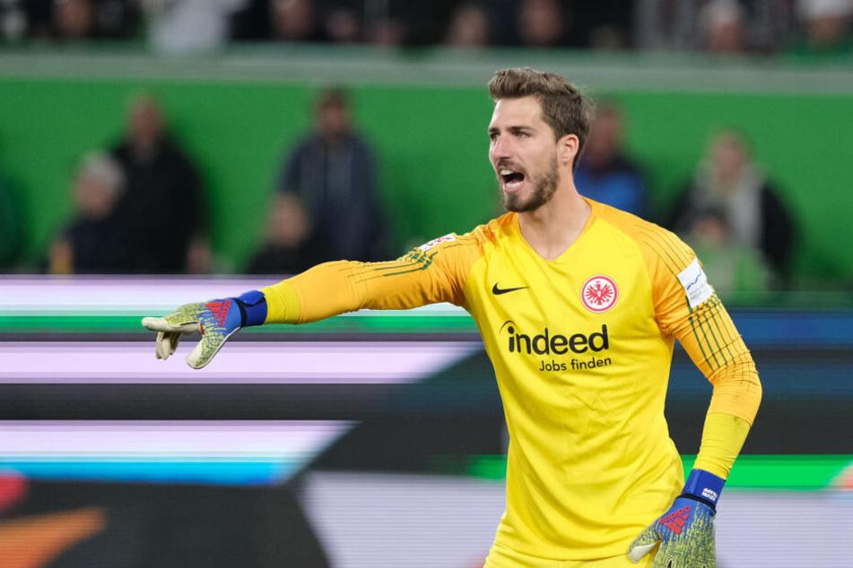Eintracht-Keeper Kevin Trapp war mit dem Punkt in Wolfsburg alles andere als zufrieden.