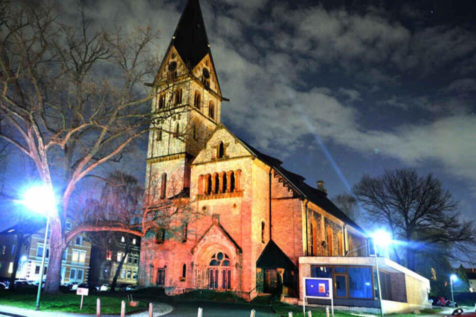 In der Nähe der Johanniskirche fand die spontane Demo statt.