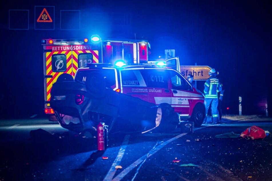 Ein Mann kam schwer verletzt ins Krankenhaus.