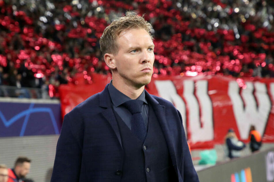 """Geht nach Niederlagen gegen Schalke und Lyon nun davon aus, """"dass wir in Leverkusen gewinnen und einen guten Abschluss der Englischen Woche haben"""": RB-Trainer Julian Nagelsmann."""
