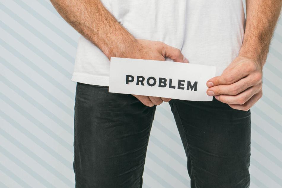 Ein Mann geriet in große Probleme, als ein Stahlring nicht mehr von seinem Penis heruntergehen wollte. (Symbolbild)