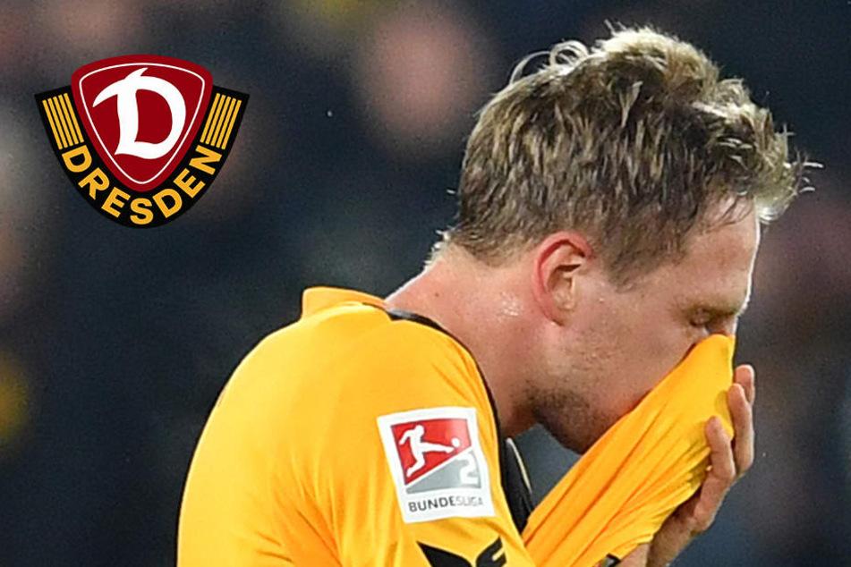"""Hartmann nimmt Dynamo-Pleite auf sich: """"Habe der Mannschaft die Punkte geklaut!"""""""