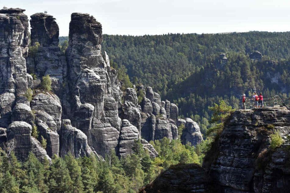 Die Sächsische Schweiz ist bei Touristen wieder beliebter.