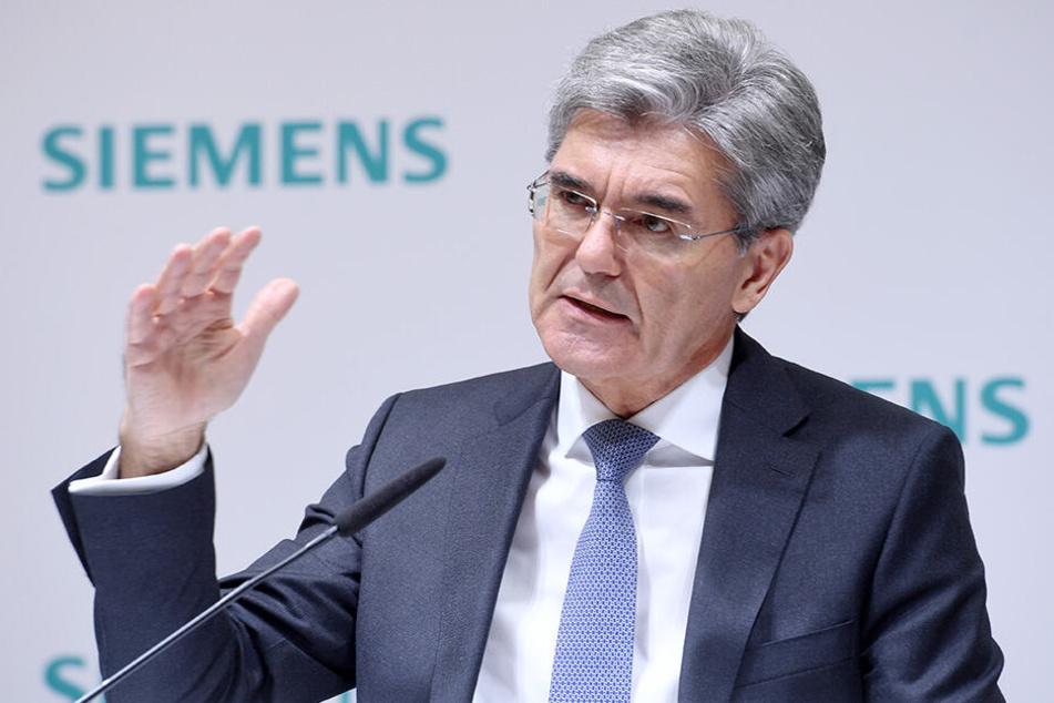 Siemens-Chef Joe Kaeser (61).