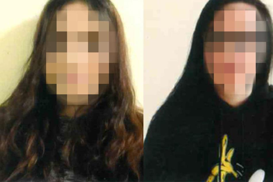 Seit dem 21. März gelten die beiden Leipziger Jugendlichen Liliana W. (15, l.) und Christine F. (15, r.) als vermisst.