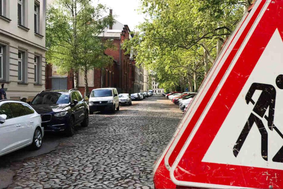 Hier wird das Parken und Durchkommen für Autofahrer im Leipziger Süden schwer