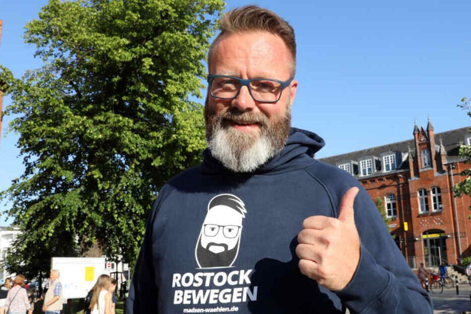 Claus Ruhe Madsen (46) ist neuer Bürgermeister von Rostock.