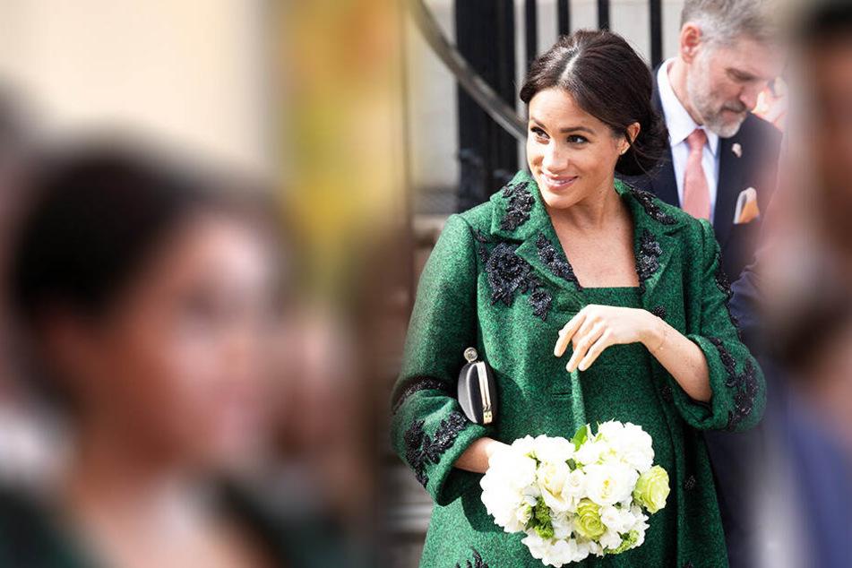 Meghan schockt die Royals schon wieder mit ihrem neuesten Wunsch bezüglich ihres ungeborenen ersten Kindes.