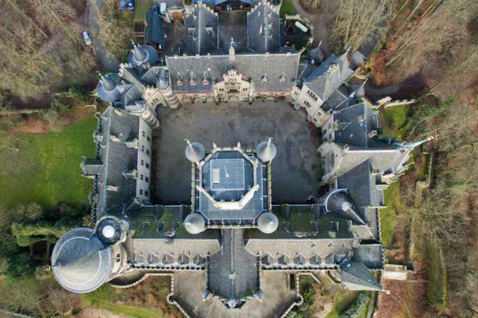 Auf der Marienburg wird zurzeit ein Märchenfilm gedreht.