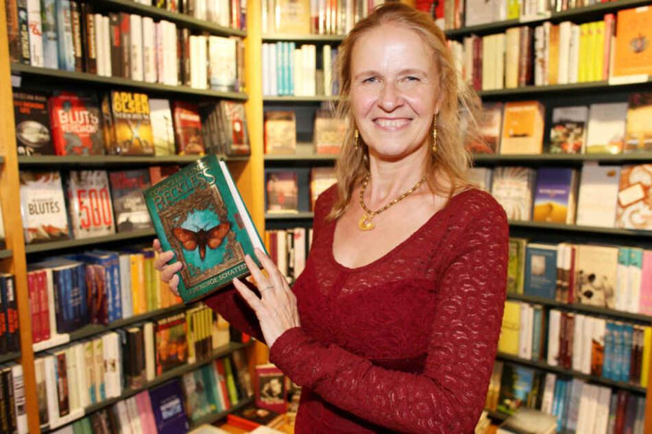 """Cornelia Funke stellte ihr Buch """"Reckless"""" vor."""