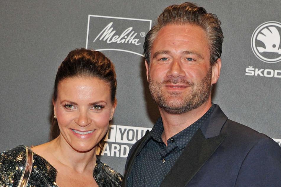 Popmusiker Sasha und seine Frau Julia sind am Sonntag stolze Eltern eines Sohnes geworden.