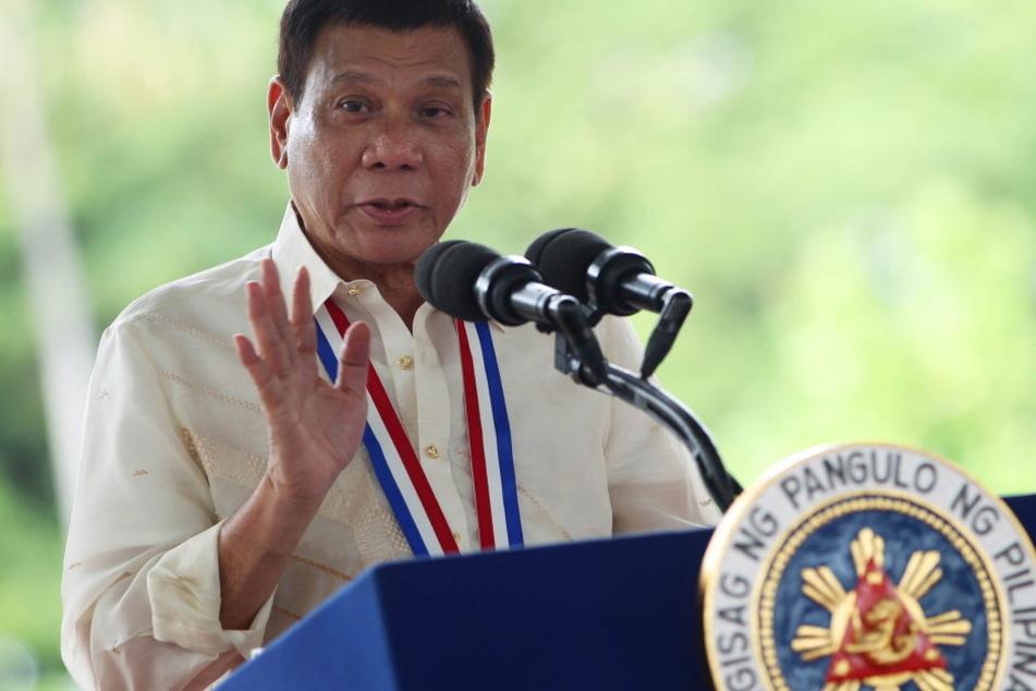 Der philippinische Präsident Rodrigo Duterte.