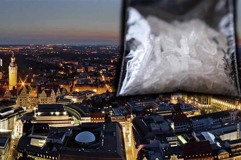 Die Zahl der von Crystal Meth Abhängigen in Leipzig stieg im Jahr 2016 weiter an. (Symbolbild)