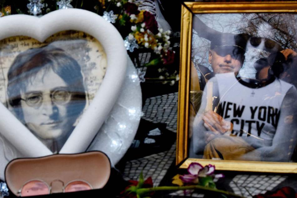 Unvergessen: Auch 35 Jahre nach seinem Tod gedachten seine Fans 2015 in New York ihrem Idol.