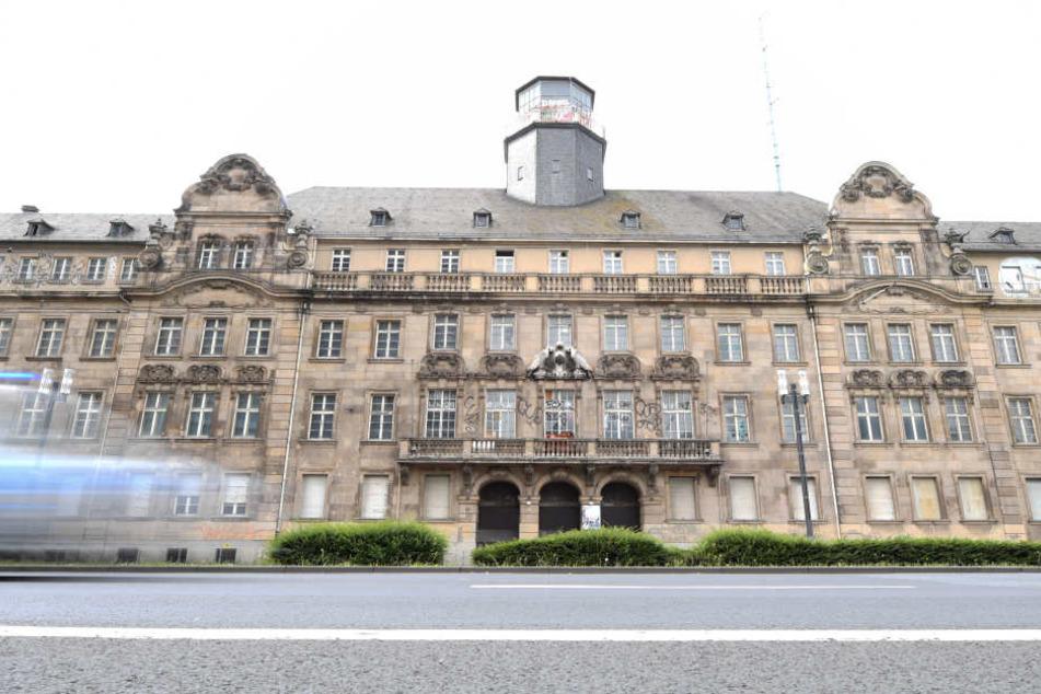 Filetgrundstück: Das alte Polizeipräsidium liegt in den Innenstadt zwischen Messe, Hauptbahnhof und Europaviertel.