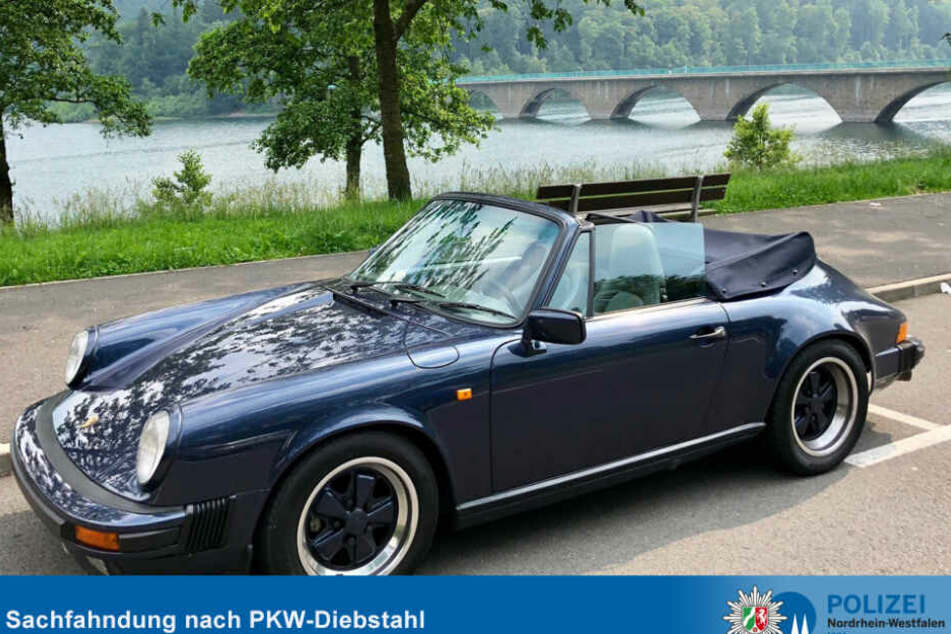 Dieser Porsche 911 SC wurde in Köln geklaut.