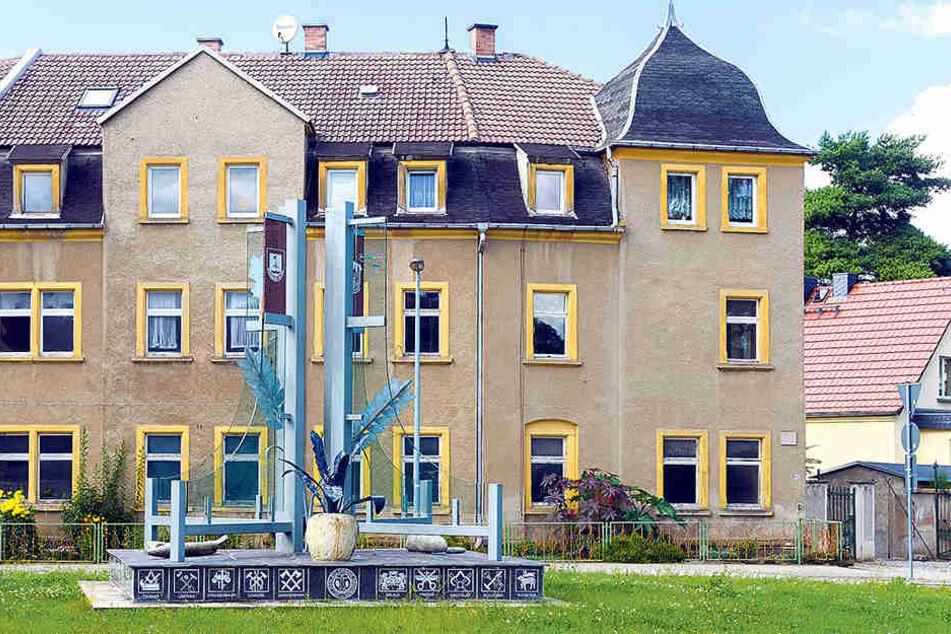In diesem Haus an der Döbelner Straße 40 in Lommatzsch wuchs der spätere Filmstar zwischen 1943 und 1945 auf.